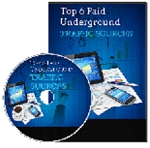 Top 6 Paid Underground Traffic Sources (PLR/MRR)