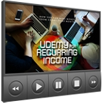 Udemy For Recurring Income (PLR / MRR)