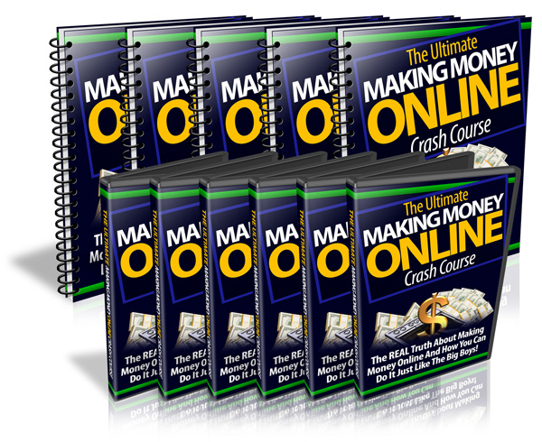 Ultimate Making Money Online Crash Course - Video Series (PLR)