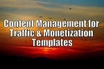 Content Management for Traffic & Monetization Templates (PLR/MRR)