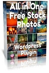 WP Free Stock Photo Plugin (PLR/MRR)