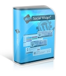WP Social Widget Plugin - PLR
