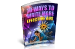 Write More Effective Ads (PLR / MRR)