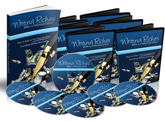 Writing Riches With Minimal Effort - Video Series (MRR)