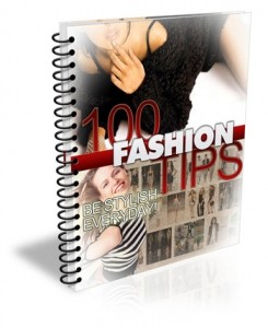 100 Fashion Tips PLR (MRR)