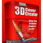 3D Cover Creator Software (PLR / MRR)
