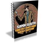 Super Sleuth - Research Anything About Anyone (PLR / MRR)