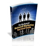 The BIG BOOK Of Network Marketing Survival Guide (MRR)