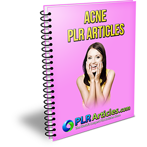 10 Acne PLR Articles (PLR / MRR)