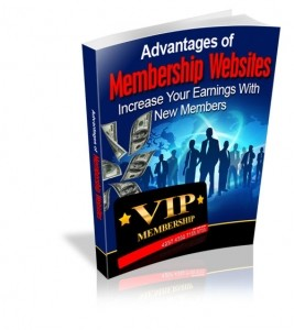 Advantages of Membership Websites (RR)