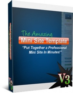 Amazing Mini Site Template V3 (PLR)