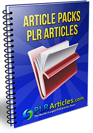 30 PLR Articles Pack (PLR/MRR)