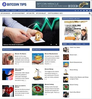 Bitcoin PLR Website - Turnkey Bitcoin PLR Website (PLR)