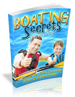 Boating Secrets (PLR / MRR)