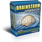 Brainstorm Generator Software (PLR / MRR)