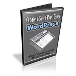 Create A Sales Page Using WordPress PLR (MRR)