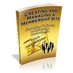 Creating And Managing A Membership Site (MRR)