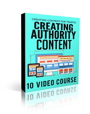Creating Authority Content (PLR / MRR)
