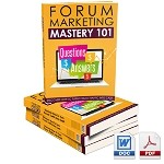 Forum Marketing Mastery 101 (PLR / MRR)