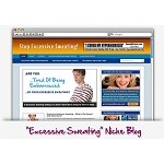 Excessive Sweating Niche Blog Theme