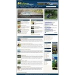 Fishing Blog Template (PLR / MRR)