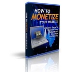 How To Monetize Your Website - Landing Page