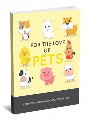 For The Love Of Pets (PLR / MRR)