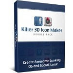 Killer 3D Icon Maker Double Pack(PLR)