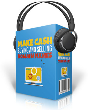 Make Cash Buying And Selling Domain Names (PLR / MRR)