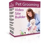 Pet Grooming Video Site Builder PLR(MRR)