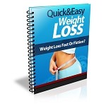 Quick And Easy Weight Loss (PLR / MRR)