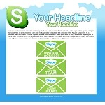 Skype Squeeze Page 1 - PLR