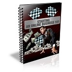 Starting An Online Business 101 - eBook and Audio (PLR / MRR)