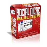 Social Niche Builder - Software (PLR / MRR)