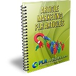 27 PLR Marketing Articles (PLR / MRR)