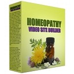 Homeopathy Video Site Builder (PLR / MRR)