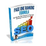 Page One Ranking Formula - PLR