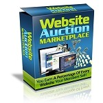 Website Marketplace Auction Script (PLR / MRR)