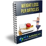 25 Weight Loss PLR Articles - V2 (PLR / MRR)